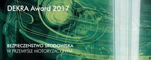 DEKRA Award dla Przemysłu Motoryzacyjnego